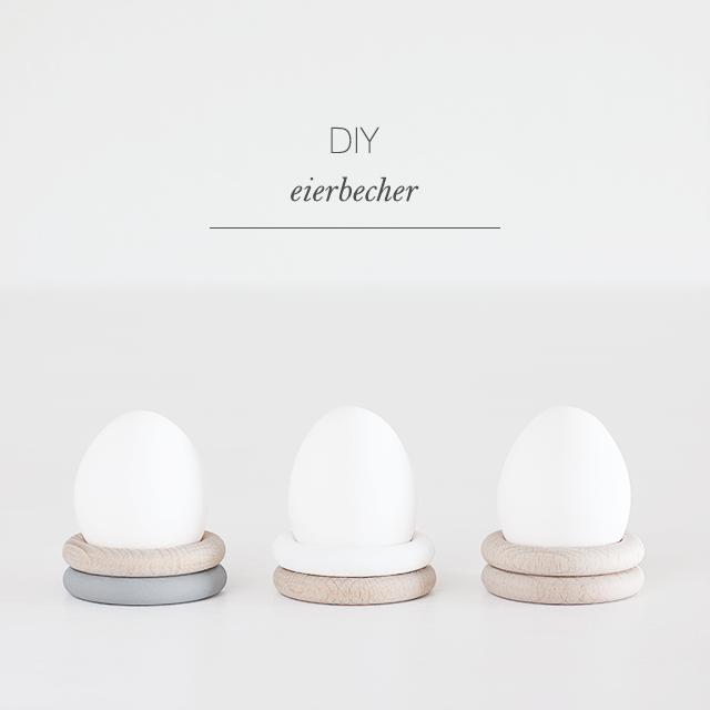 Eierbecher aus Holzringen